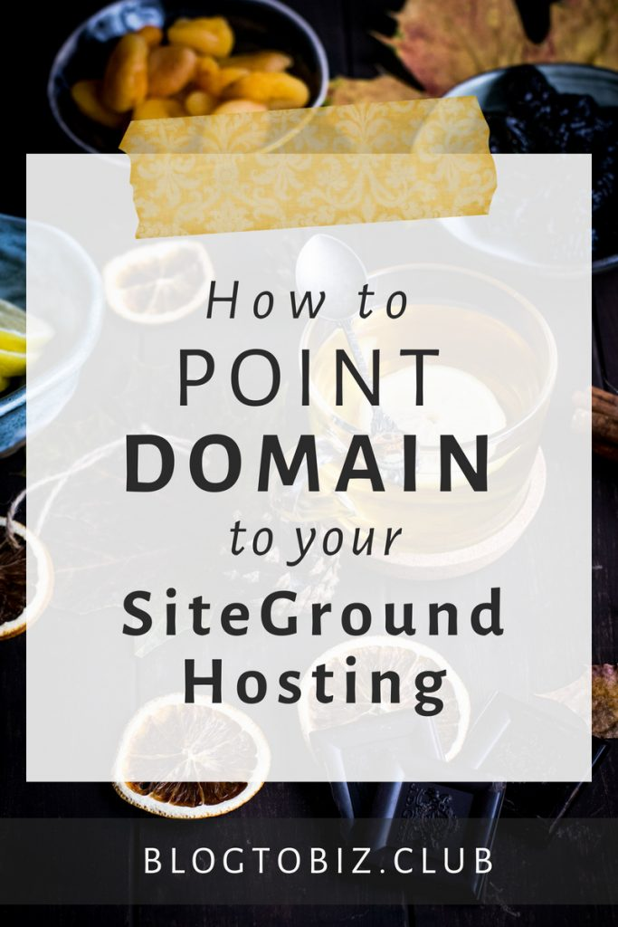 A step-by-step tutorial for how to point your domain to your hosting company.