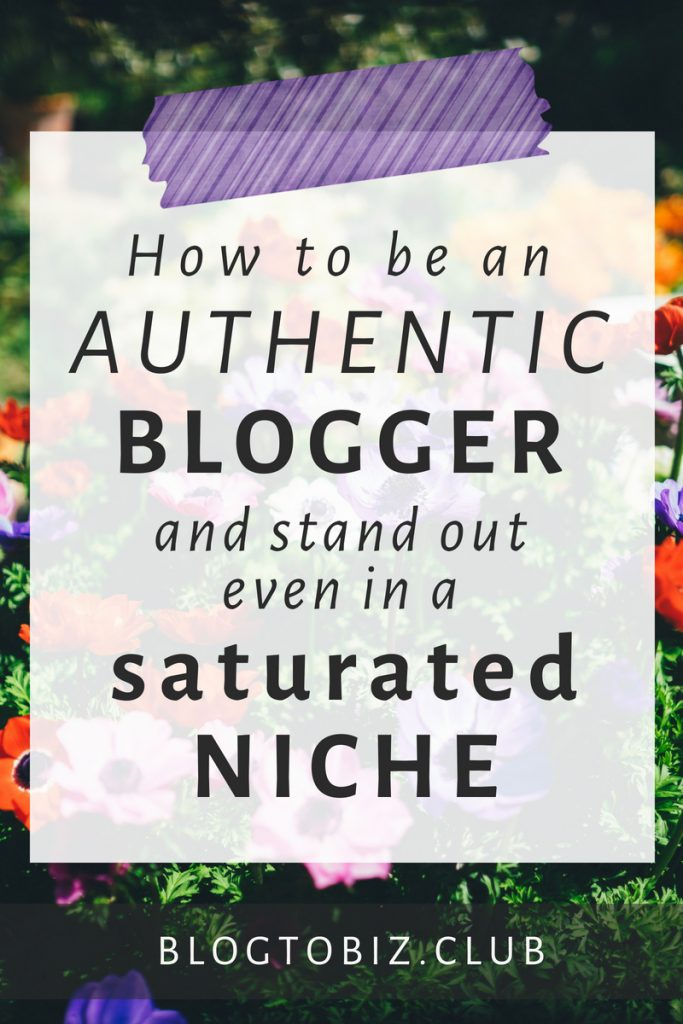 5 ways in which you can be authentic and stand out from the crowd filled with look-alike content creators and bloggers who're all saying the same things.
