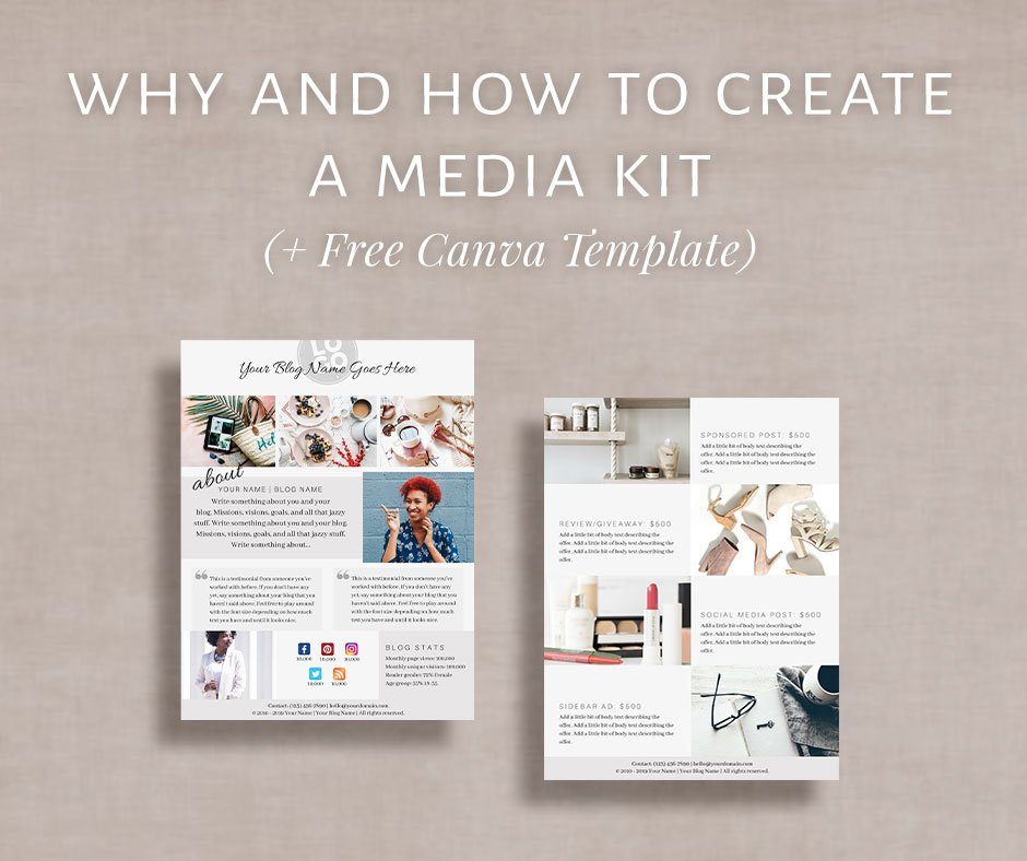 In this blog post I talk about how and why all bloggers should have a media kit ready from day-1.