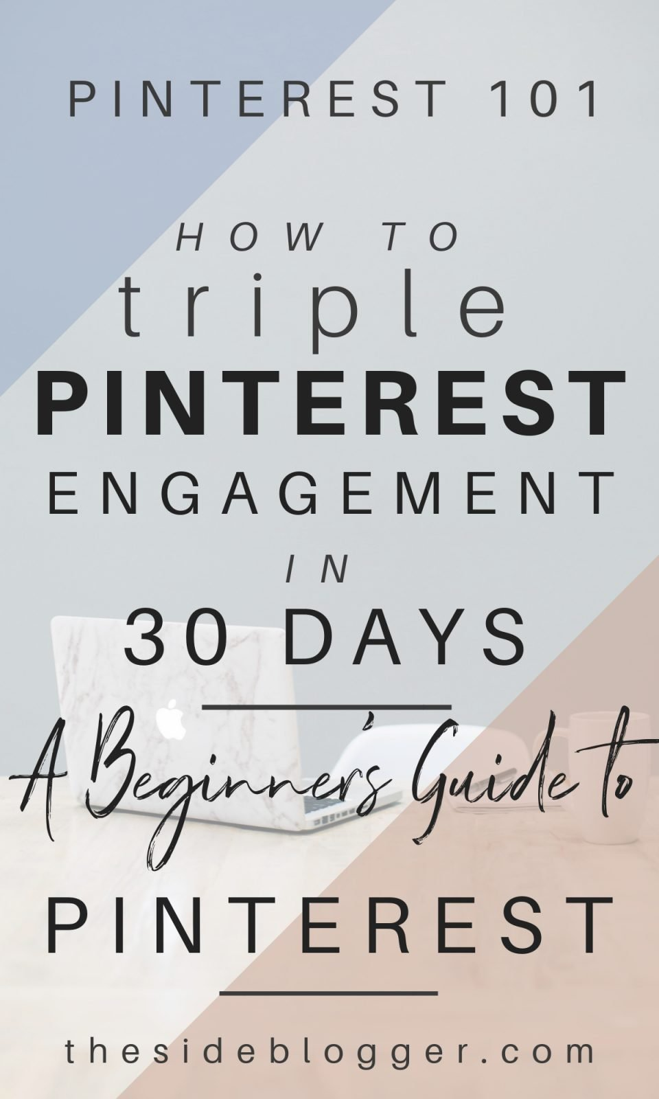 How to triple monthly Pinterest engagement and increase blog traffic by 30% in just 30 days