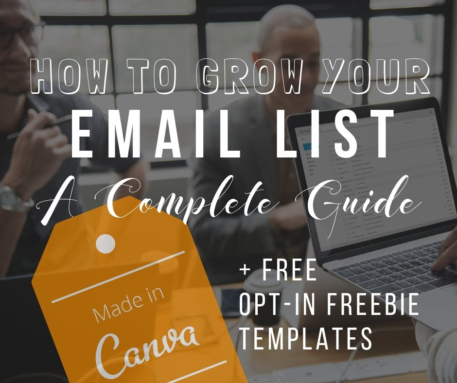 Ever wonder how other bloggers and small business owners grow their email list? Demystifying the email list mystery in this blog post, one step at a time   The Side Blogger #email-list #EmailList #Newsletter #Email #Blogging #Blogger #Email-Marketing #Marketing #Small-Business #Growth #Online-Business