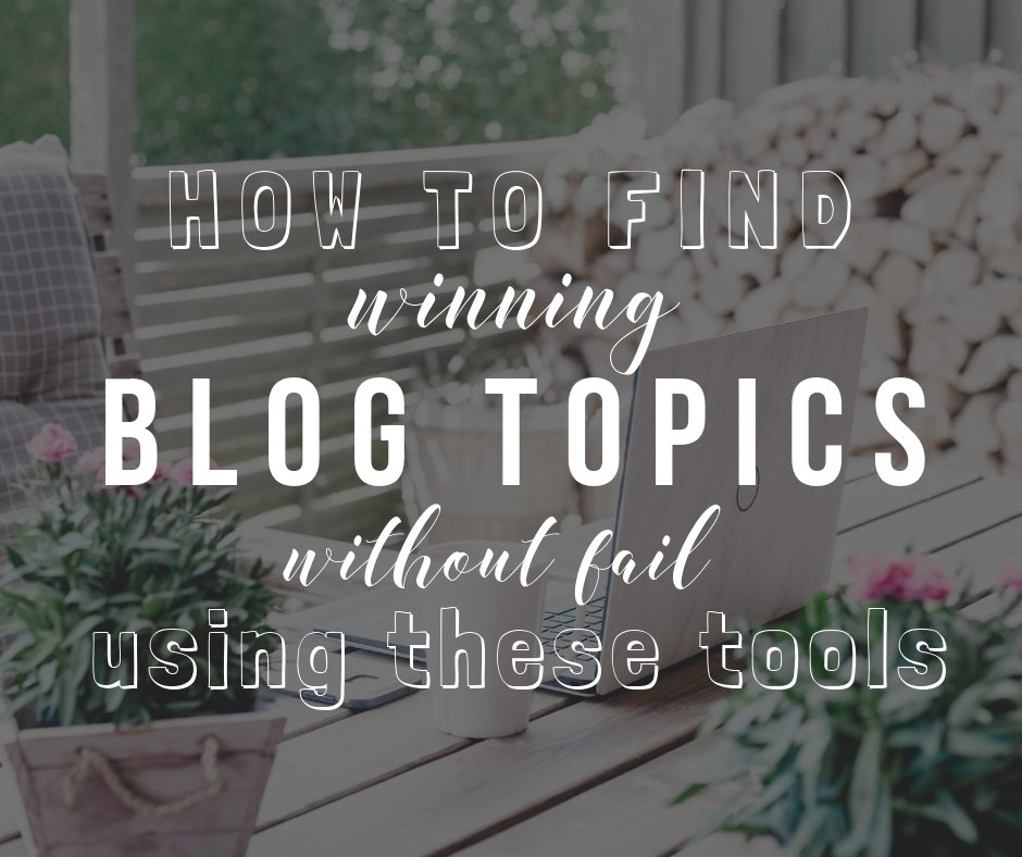 How to use Spyfu and Buzzsumo to come up with winning blog topics that never fail | The Side Blogger