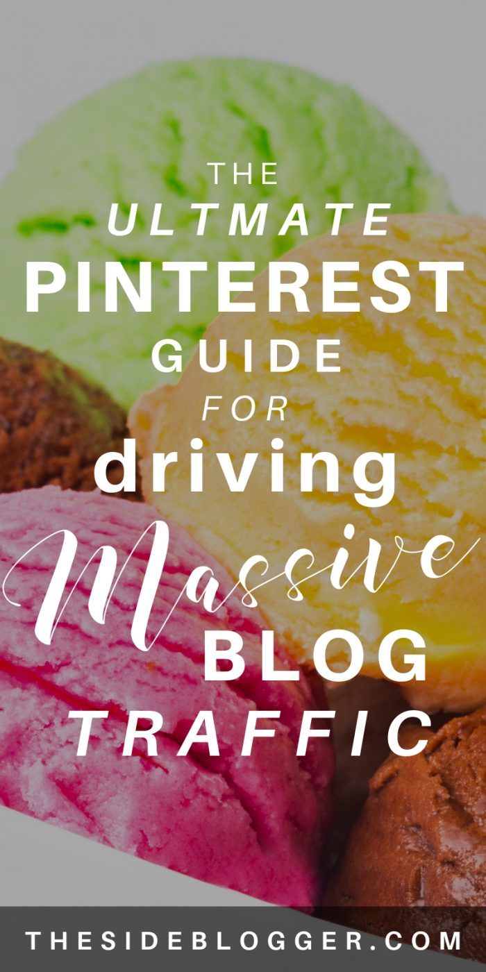 A complete, step by step guide to driving massive blog traffic for the busy blogger - The Side Blogger #blog #blogger #blogging #bloggingtips #pinterest