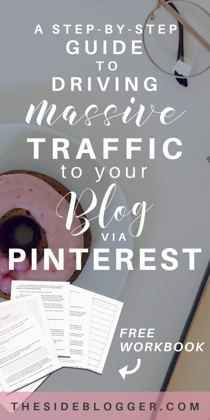 How to become a Pinterest WHIZ in less than 30 minutes and drive mega traffic to your blog - A Pinterest tutorial by The Side Blogger   #blogging #pinterest #pinteresttips #bloggingtips