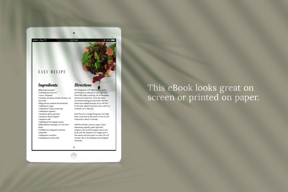 eBook Canva template - Gathering