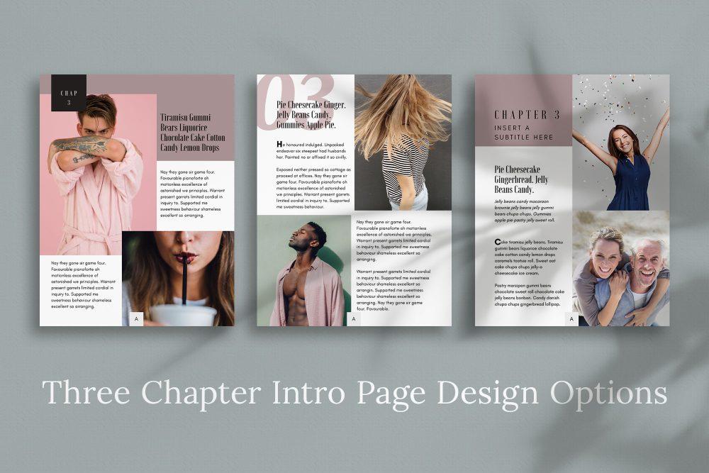 eBook Canva template - Cotton