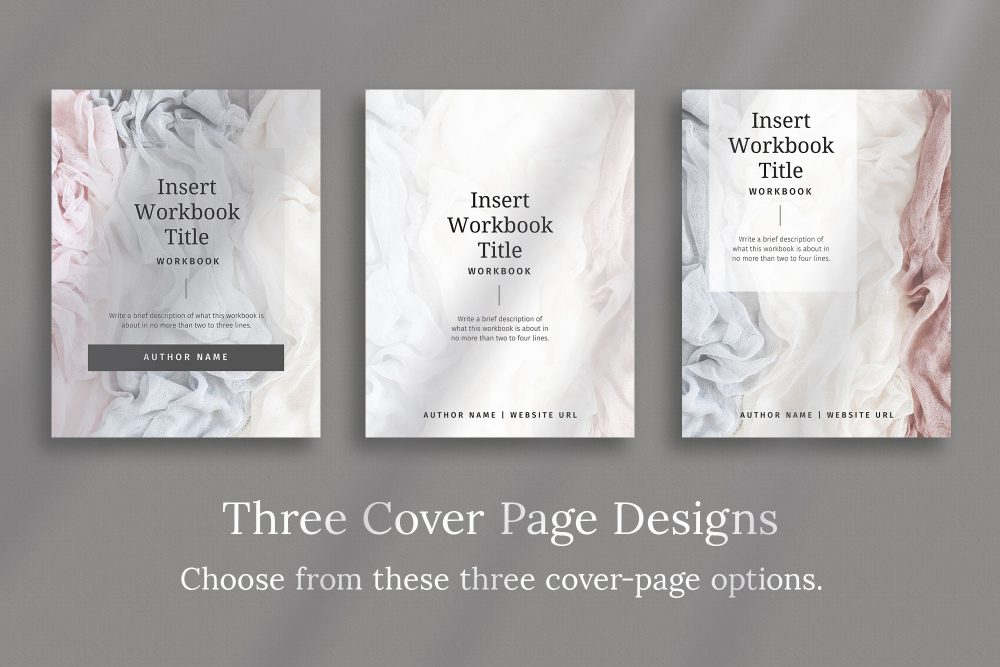 Workbook Canva Template - Silver