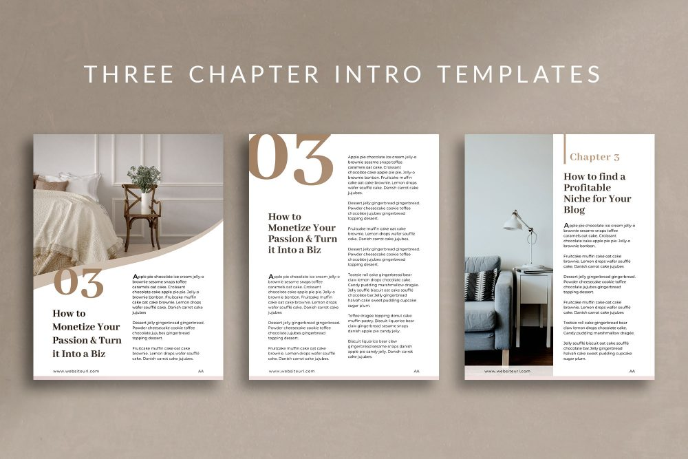 eBook Canva Template - Nordic - 2 pages