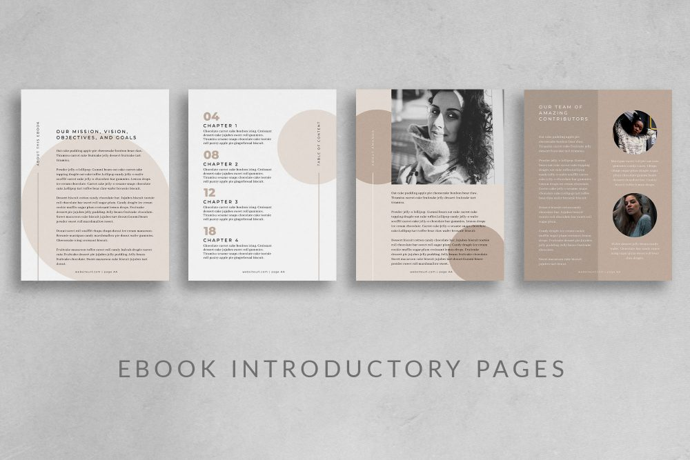 eBook Canva Template - Georgia - 24 pages