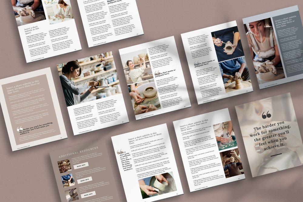 eBook Canva Template - Maker