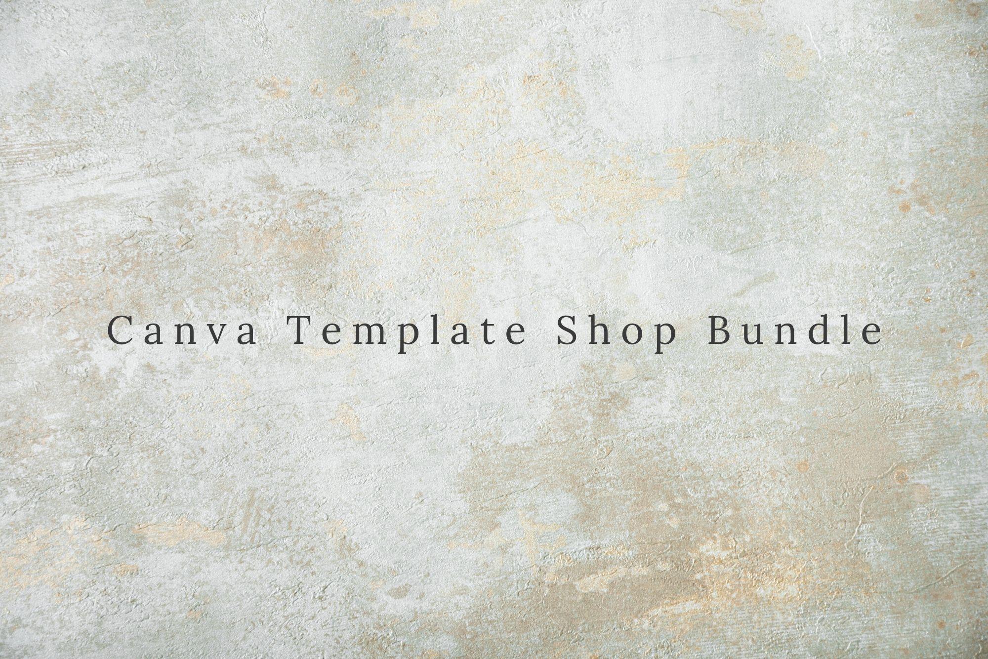 Canva Template Shop Bundle