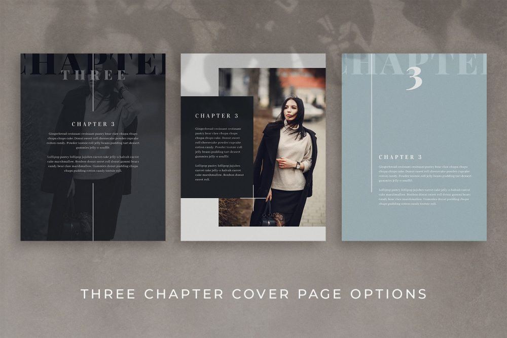 eBook Canva Template for Bloggers and Content Creators - Dunes