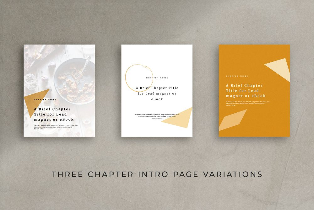 An eBook or lead magnet template made with Canva