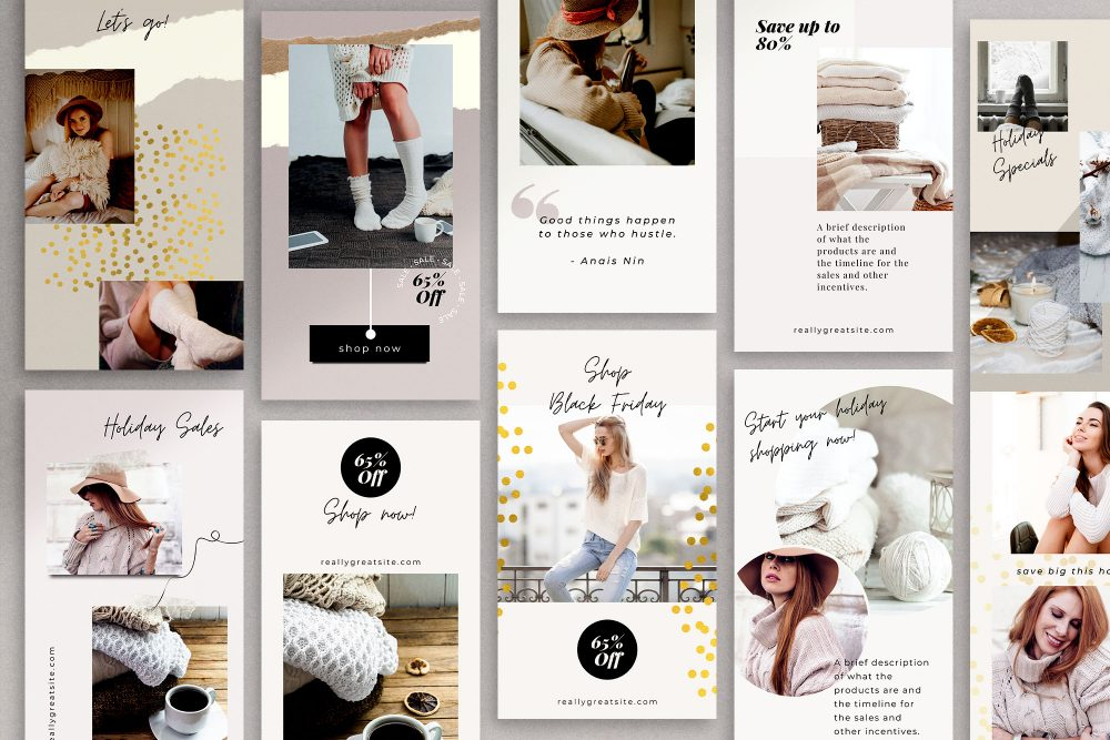 Instagram Canva Templates - Frost