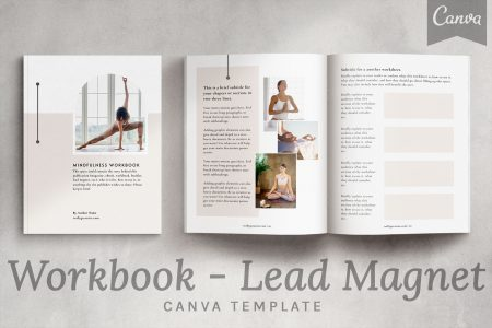 Merino - a mini workbook - lead magnet Canva template