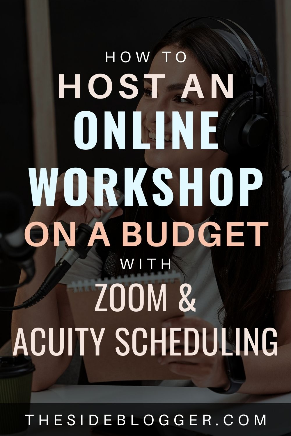 how to host an online workshop with zoom and acuity scheduling